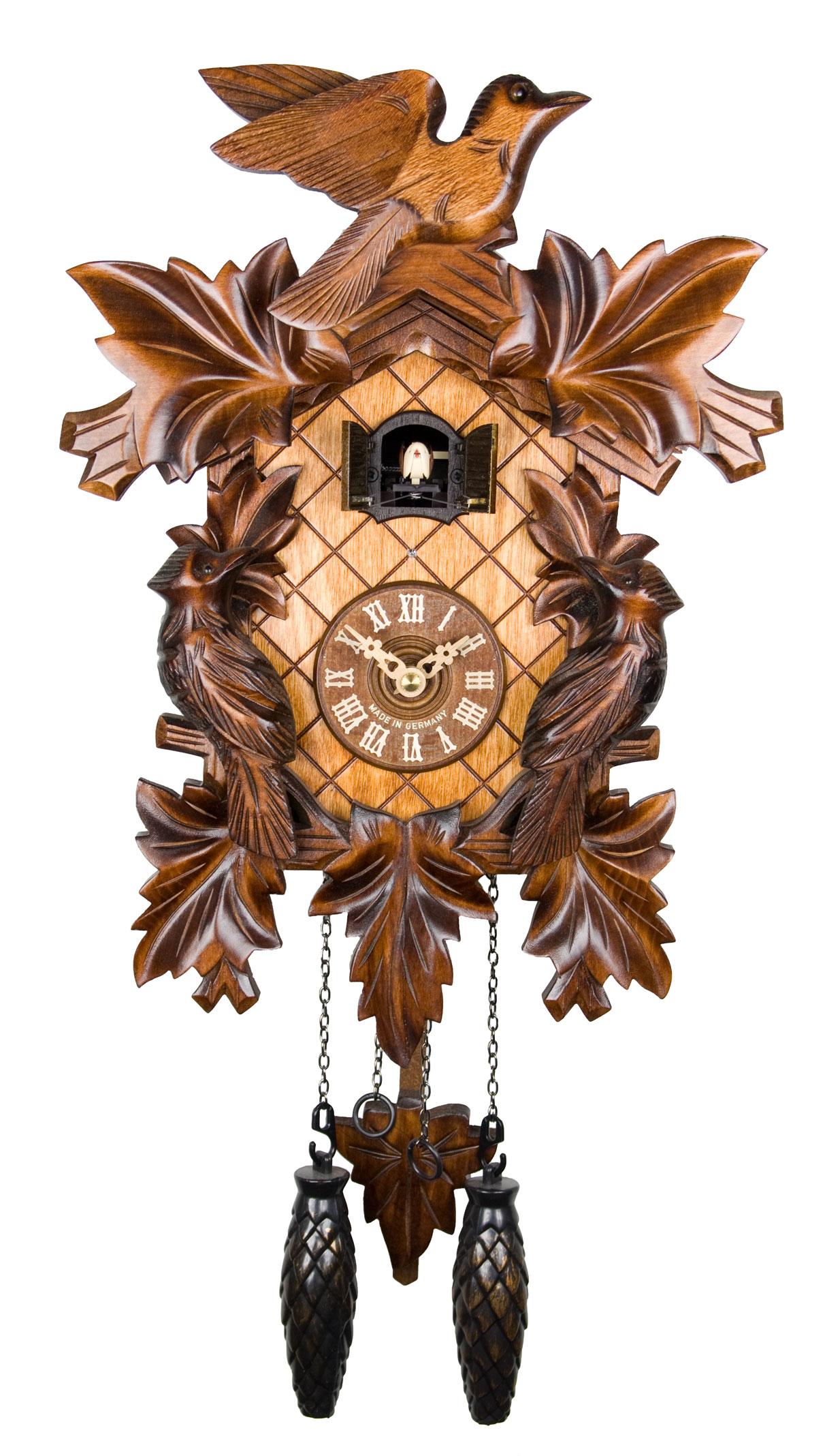 Cuckoo clock shop adolf herr quartz cuckoo clock the cuckoo bird - Cuckoo bird clock sound ...