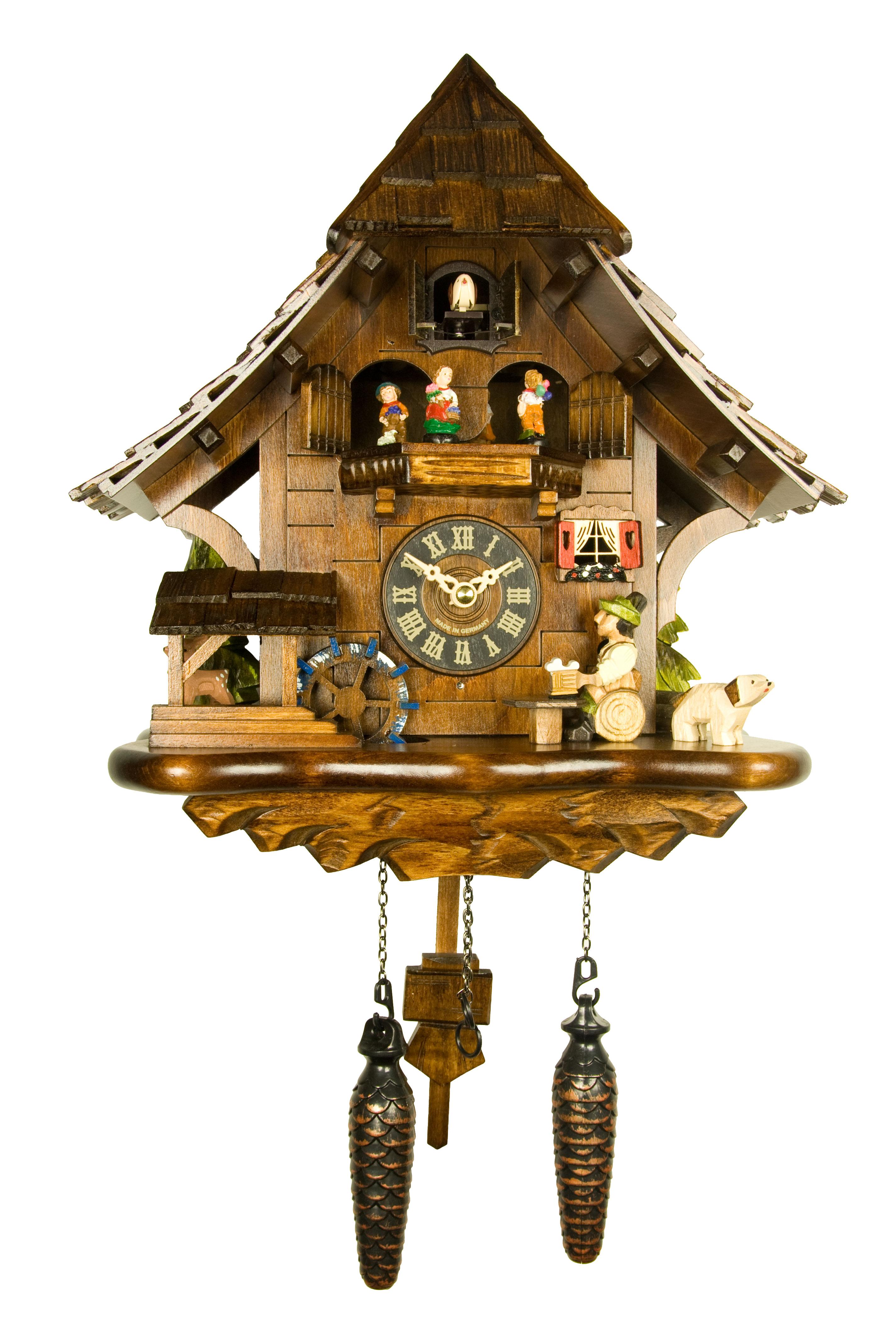 charming Quartz Cuckoo Clock Part - 14: Vorschau